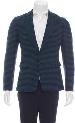 Dries Van Noten Patterned Wool Blazer