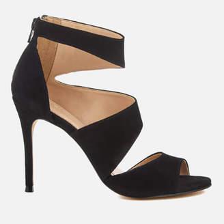 Carvela Women's Gene Suede Triple Strap Heeled Sandals