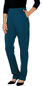 Denim & Co. Active Tall French Terry Pull-onPants