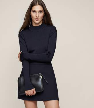 Reiss Kim Rib-Knit High-Neck Jumper