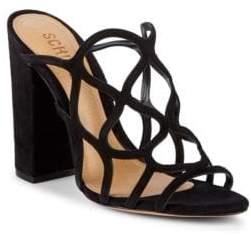 Schutz Nurten Suede Sandals