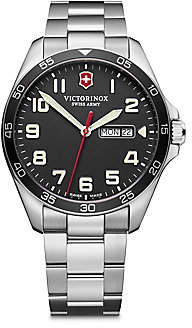 Victorinox Men's Field Force Stainless Steel Bracelet Watch