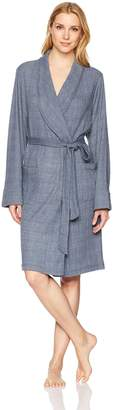 Felina Women's Glenda Shawl Collar Wrap Robe with Pockets