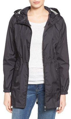 Women's Calvin Klein Packable Rain Jacket $150 thestylecure.com