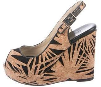 Jimmy Choo Cork Wedge Sandals