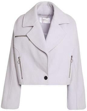 Zimmermann Wool-Blend Biker Jacket