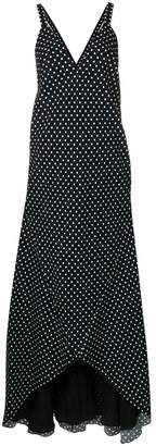 Haider Ackermann Polka dot maxi dress