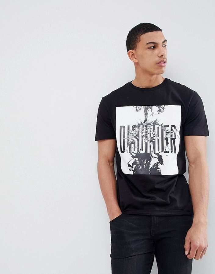 – Disorder – Schwarzes T-Shirt