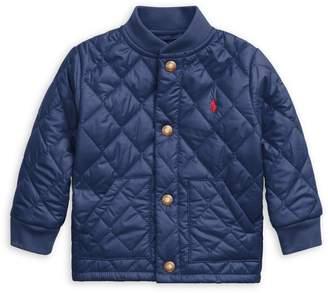 Ralph Lauren Childrenswear Baby Boy's Water-Repellent Quilted Coat