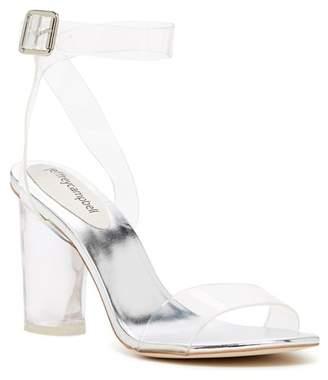 Jeffrey Campbell Doce Strap Block Heel Sandal