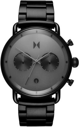 MVMT Blacktop Chronograph Bracelet Watch, 47mm