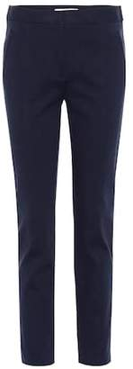 Tory Burch Vanner cotton-blend trousers