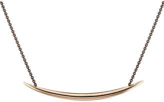 Shaun Leane Silver and rose gold vermeil Quill necklace