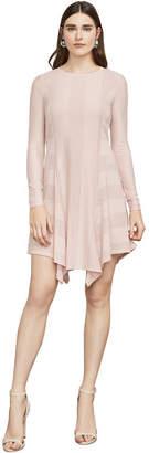 BCBGMAXAZRIA Malisa Stripe Mesh Dress