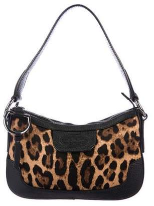 Pre Owned At Therealreal Dolce Gabbana Animalier Shoulder Bag