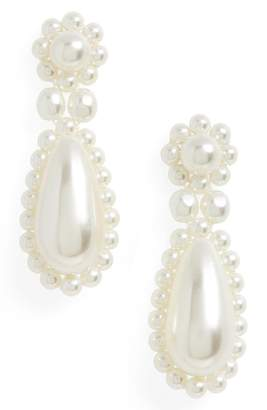 Simone Rocha Imitation Pearl Drop Earrings