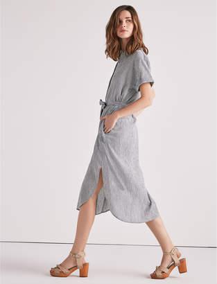 Lucky Brand Striped Shirt Dress