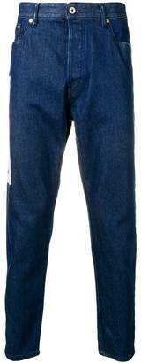 Just Cavalli patterned detail jeans