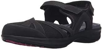 Easy Spirit Women's Efast Flat Sandal $39.99 thestylecure.com