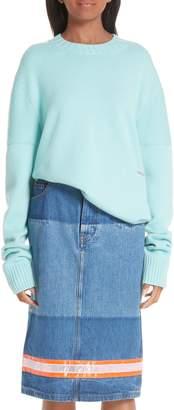 Calvin Klein Logo Cashmere Sweater