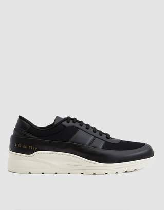 Common Projects Track Super Sneaker in Black