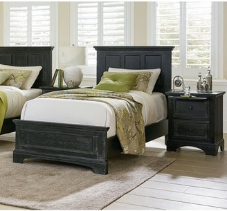 Rails Inspired by Bassett Farmhouse Basics Bed Set with Headboard, Footboard and Bed Rails, Multiple Sizes