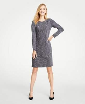 Ann Taylor Tall Pearlized Shift Dress