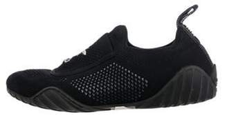 Christian Dior D-Fence Leather Sneakers Black D-Fence Leather Sneakers