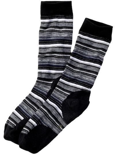SmartWool Margarita Striped Crew Socks