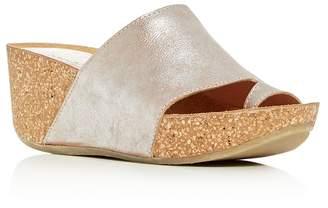 Donald J Pliner Women's Ginie Platform Wedge Slide Sandals