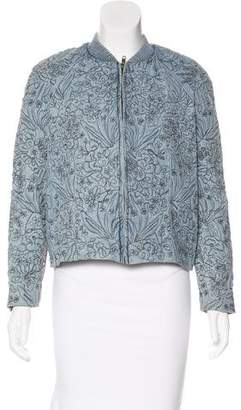 Antik Batik Embroidered Zip-Up Jacket