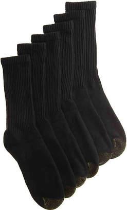 Gold Toe Athletic Crew Socks - 6 Pack - Men's