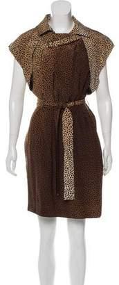Gucci Pre-Fall 2010 Animal Print Dress