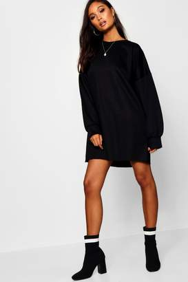 boohoo The Perfect Oversized Sweat Dress
