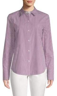 Lafayette 148 New York Linley Striped Blouse