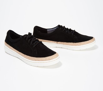 Clarks Collection Leather Lace-Up Shoes - Marie Mist