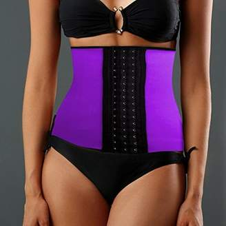 ONLINE Women's Instant Slimming Curvy Waist Cincher - Purple L