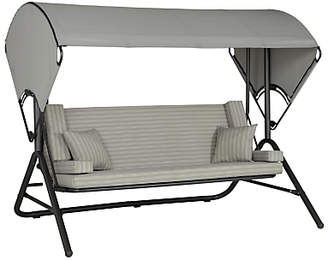 John Lewis & Partners Henley by KETTLER Outdoor Swing Seat, Grey