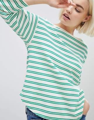 Mads Norgaard Organic Cotton Stripe Bretagne Top