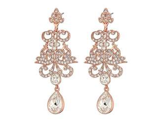 Nina Art Nouveau Chandelier Statement Earrings Earring