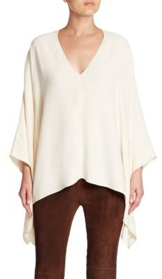 Ralph Lauren Collection Filipa Poncho Top $1,190 thestylecure.com