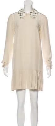 Prada Sequin Silk Dress
