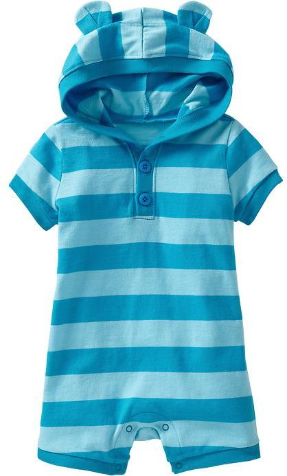 Old Navy Hooded Short One-Pieces for Baby