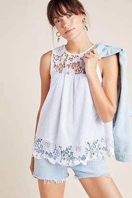 Anthropologie Aeliana Lace Blouse