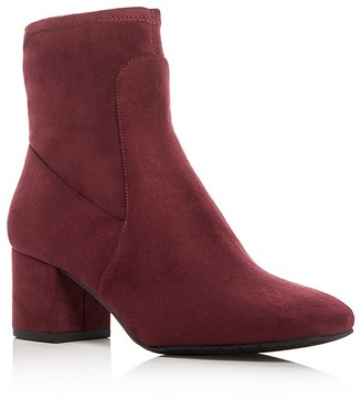 Kenneth Cole Nikki Mid Heel Booties $170 thestylecure.com