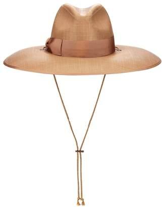 Gucci Wide-brim woven hat