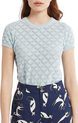 ModCloth Pointelle Sweater