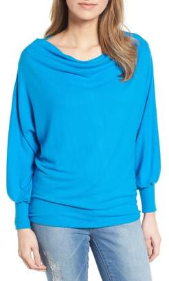 Gibson Drape Dolman Cozy Fleece Top