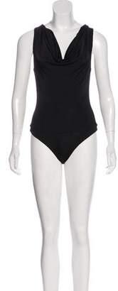 Cushnie et Ochs Sleeveless Cowl Bodysuit