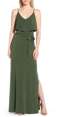 MICHAEL Michael Kors Chain Strap Popover Maxi Dress